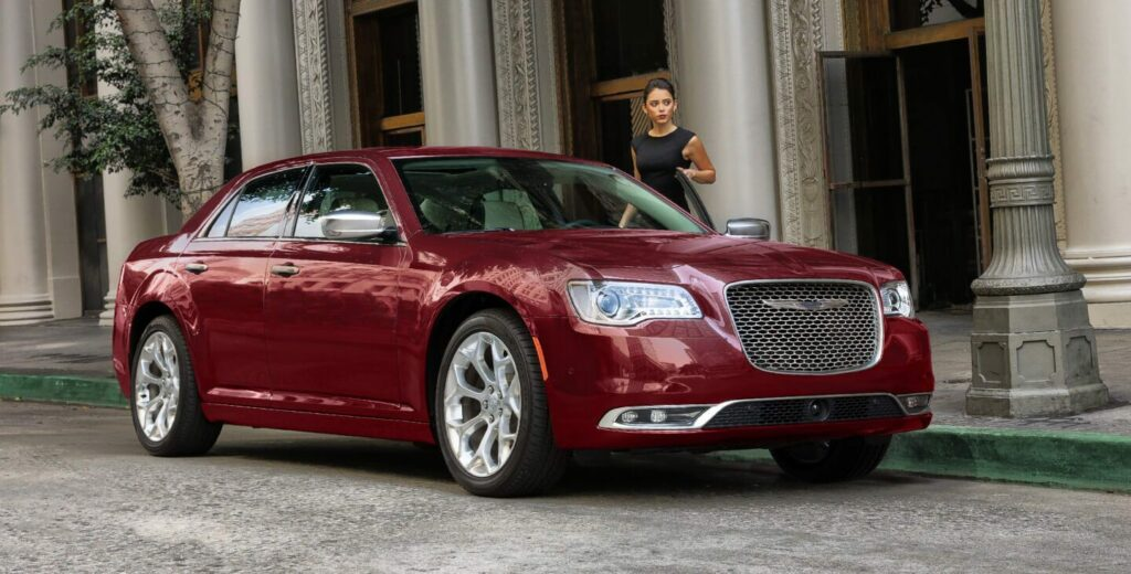 Red Chrysler